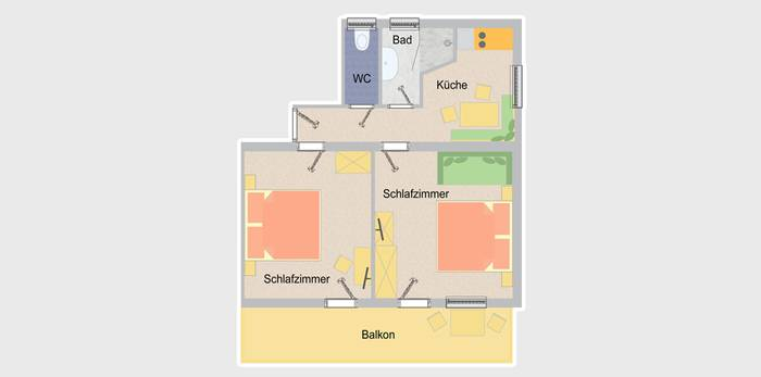 Appartement Plan